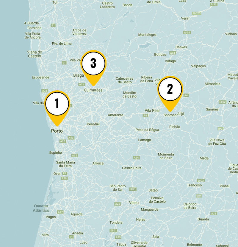 3 day Self Guided Tour In North Portugal 1